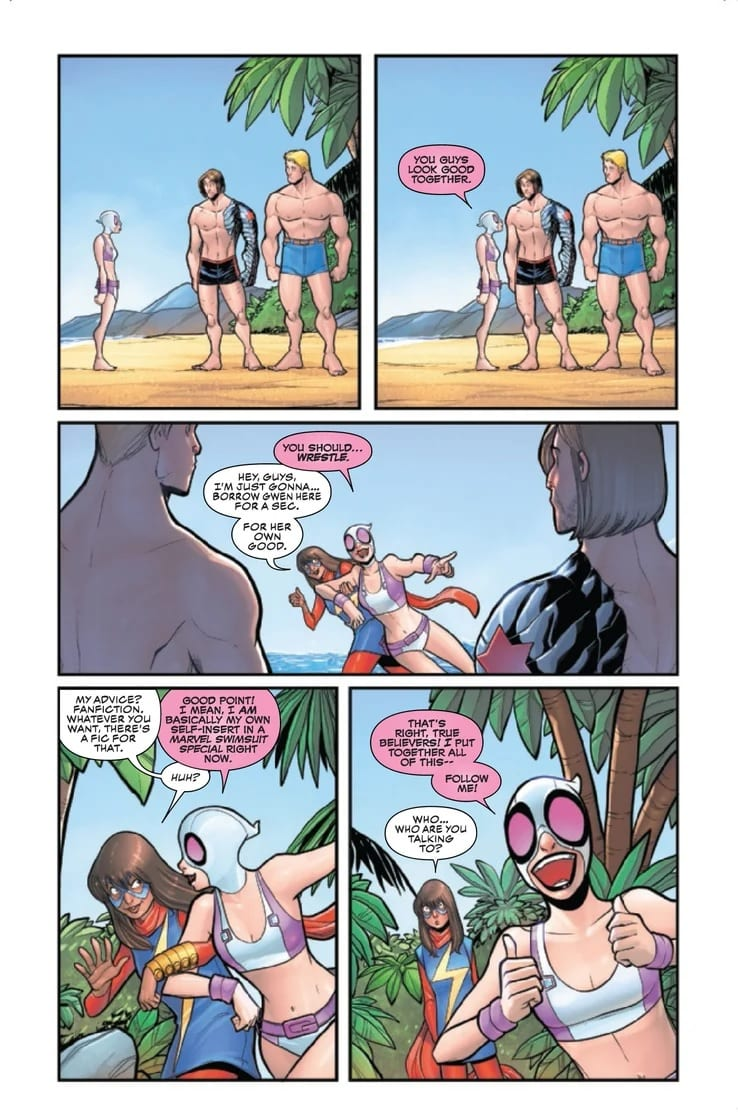 GWENPOOL STRIKES BACK #3 - The Insanity Continues 4