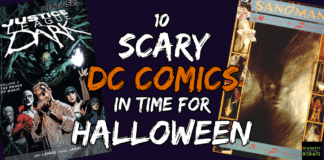 Scary DC Comics Header