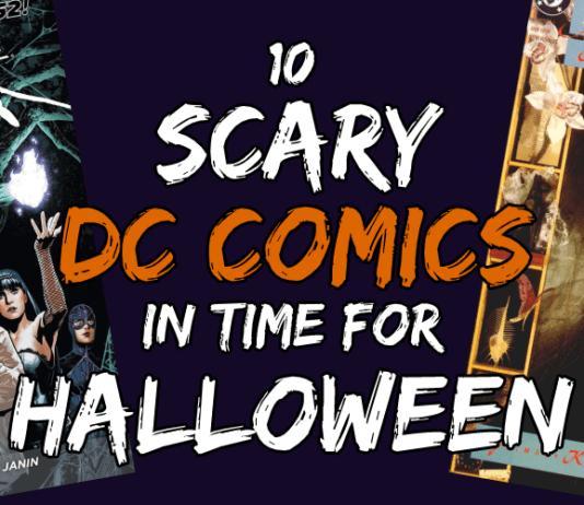 Scary DC Comics Header