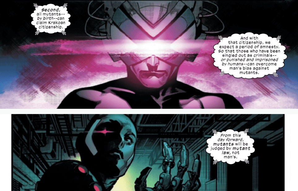 Review: HOUSE OF X #6 - Poor Apocalypse Has No Friends 6