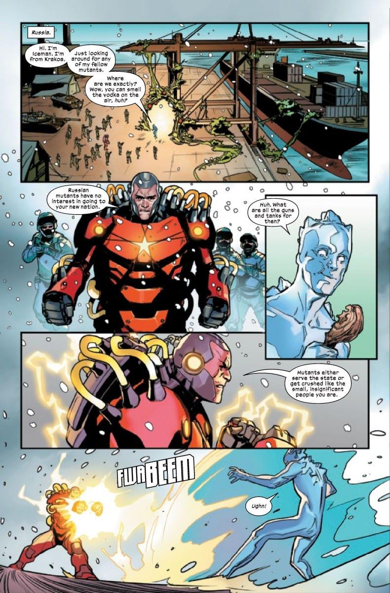 Marauders #1 Credit: Marvel Comics