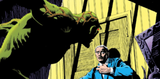 There's hardly anyone better than Swamp Thing to represent this topic Horror Comic topic