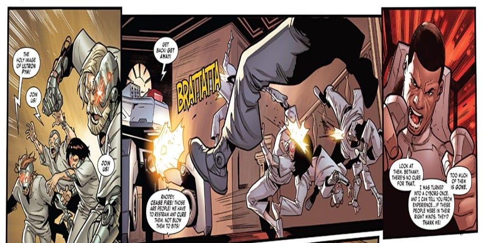 Review: TONY STARK: IRON MAN #17 Has Rhodey Make Some Bad Choices 1