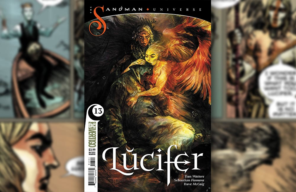 Exclusive Preview: LUCIFER #13 – War Is Declared On God