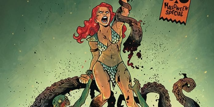 Review: Past Tragedies Unfold in SAVAGE TALES: A RED SONJA HALLOWEEN SPECIAL 4