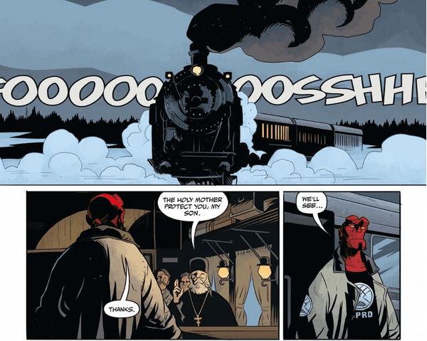 HELLBOY AND THE B.P.R.D.: LONG NIGHT AT GOLOSKI STATION 1