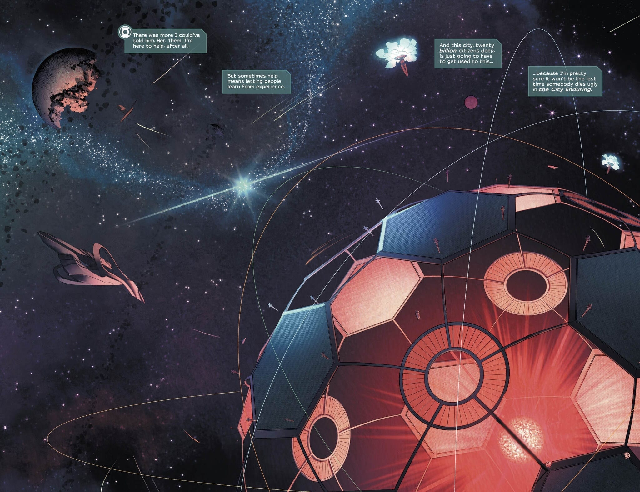 Review: A New Green Lantern Takes Flight in FAR SECTOR #1 2