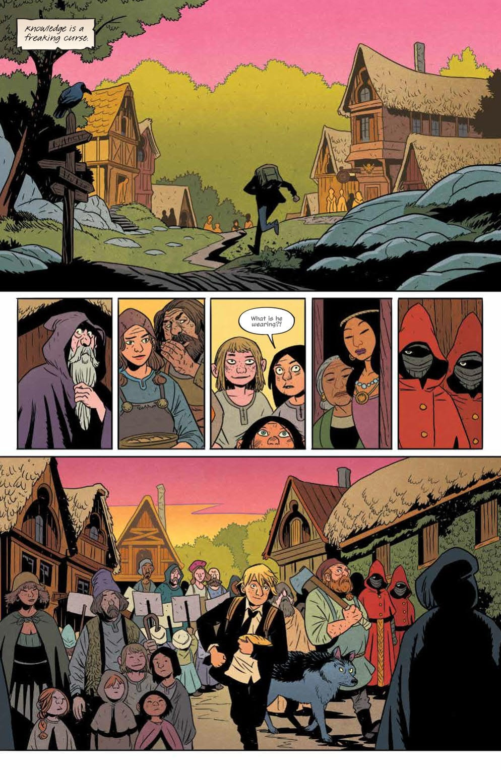 Review: FOLKLORDS #1 (Or How I Learned Earth Is Another World's Fantasy) 2