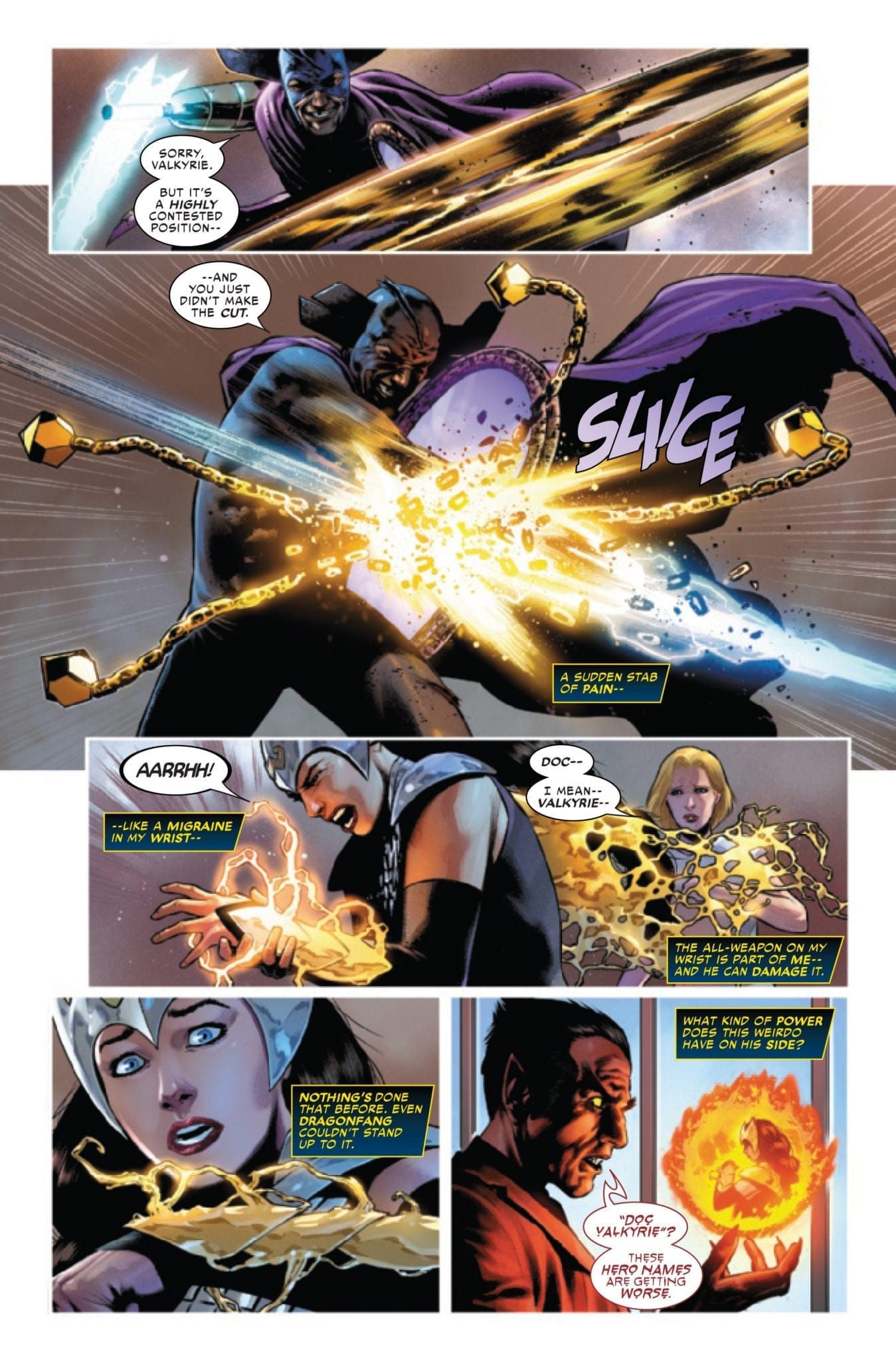 marvel comics exclusive preview valkyrie jane foster