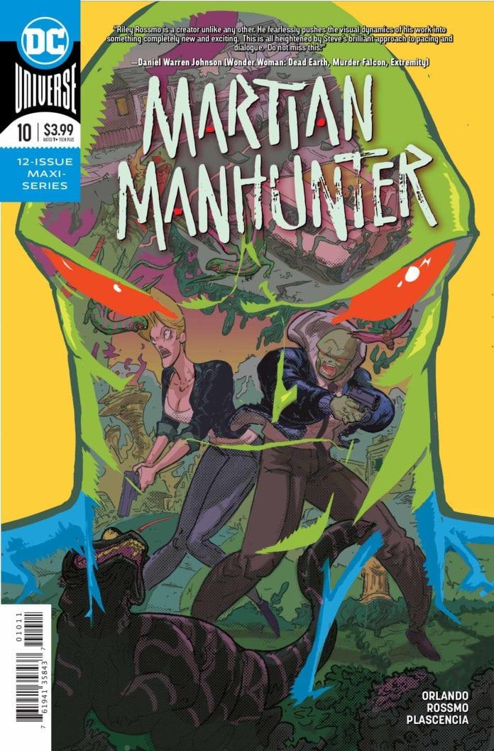 Exclusive DC Comics Preview: MARTIAN MANHUNTER #10