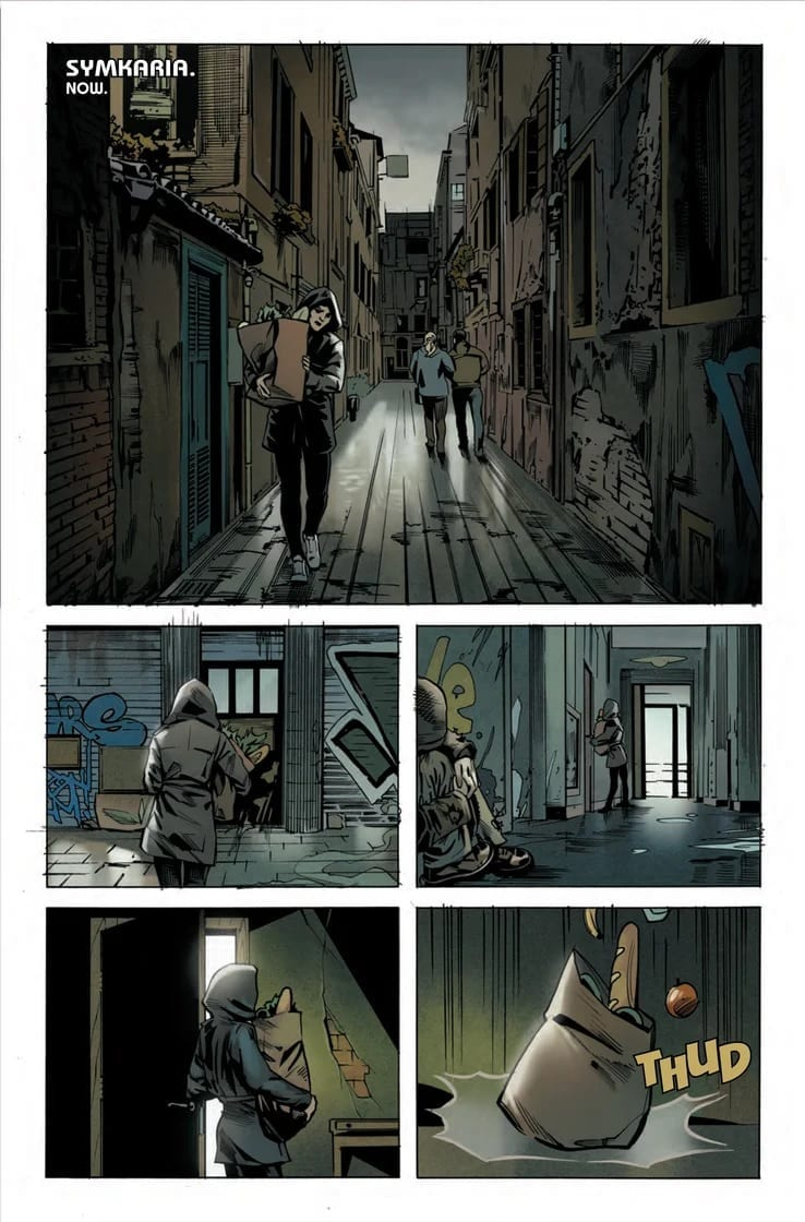 What Is Lost in WEB OF BLACK WIDOW #3 3