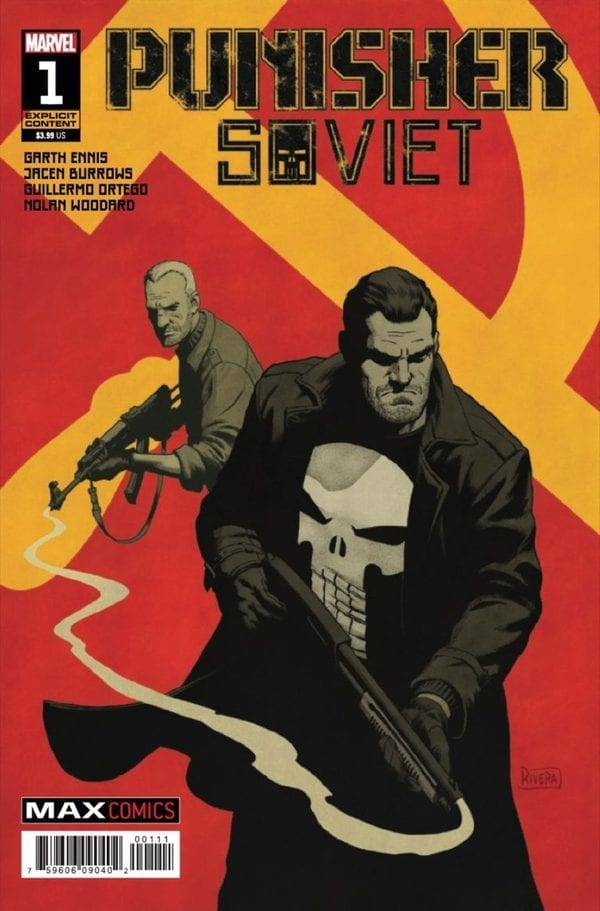 Punisher: Soviet Cover Art