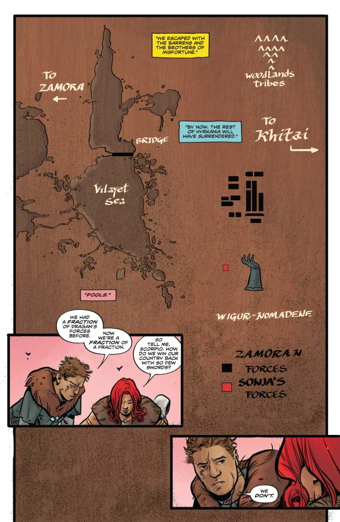Red Sonja #10