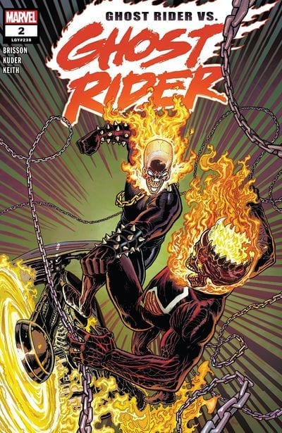 Ghost Rider Punches Ghost Rider
