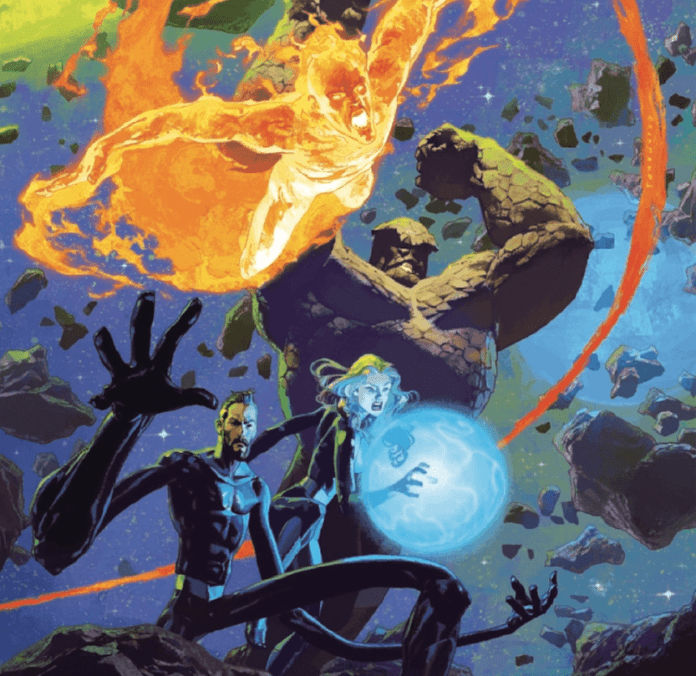 Marvel Comics Exclusive Preview: ANNIHILATION - SCOURGE: FANTASTIC FOUR #1