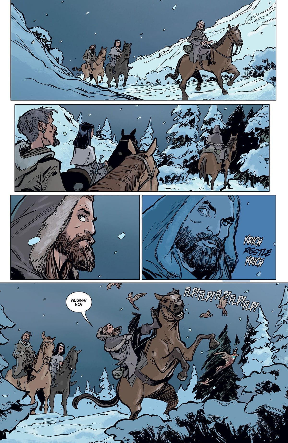 CRONE #1 - No Rest for the Wicked 5