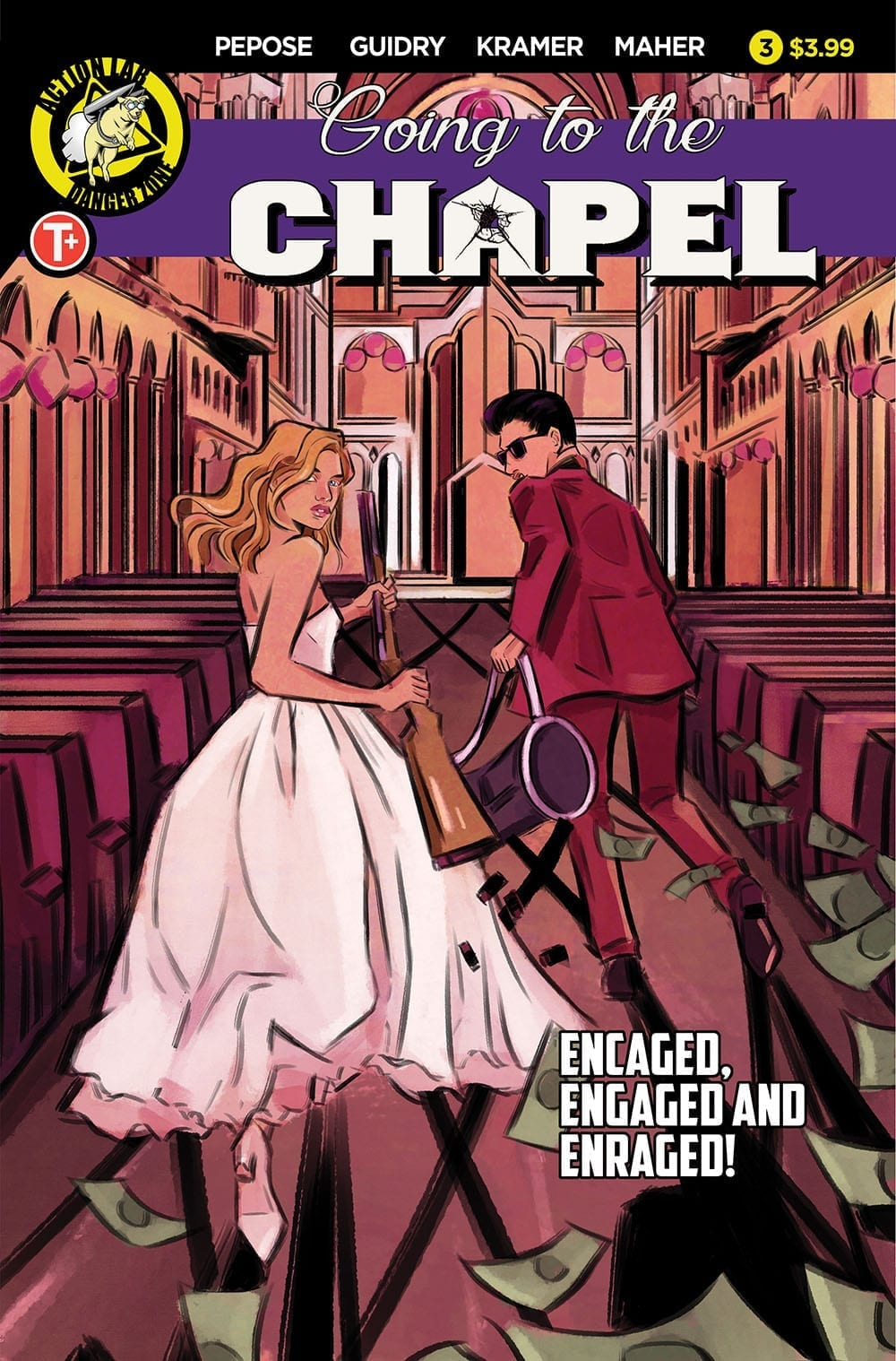 Review: 'Til Death' Gets a Lot More Likely in GOING TO THE CHAPEL #3 1