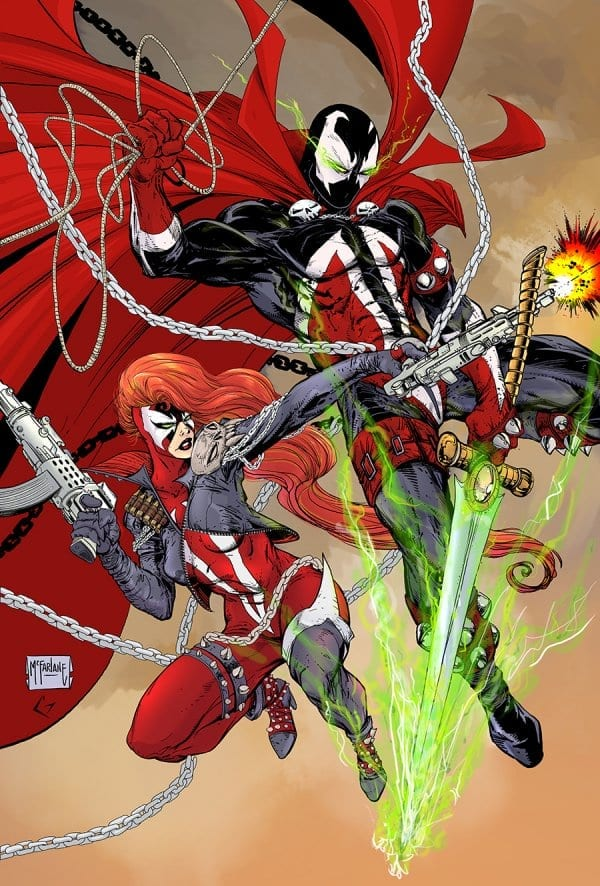 SPAWN #3-2 variant cover