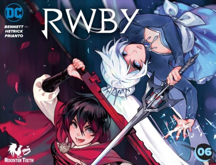 DC Comics' RWBY CHAPTER 6 Is Short But Still Important 6