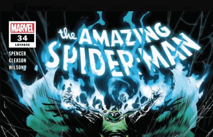 Amazing Spider-Man #34 cover
