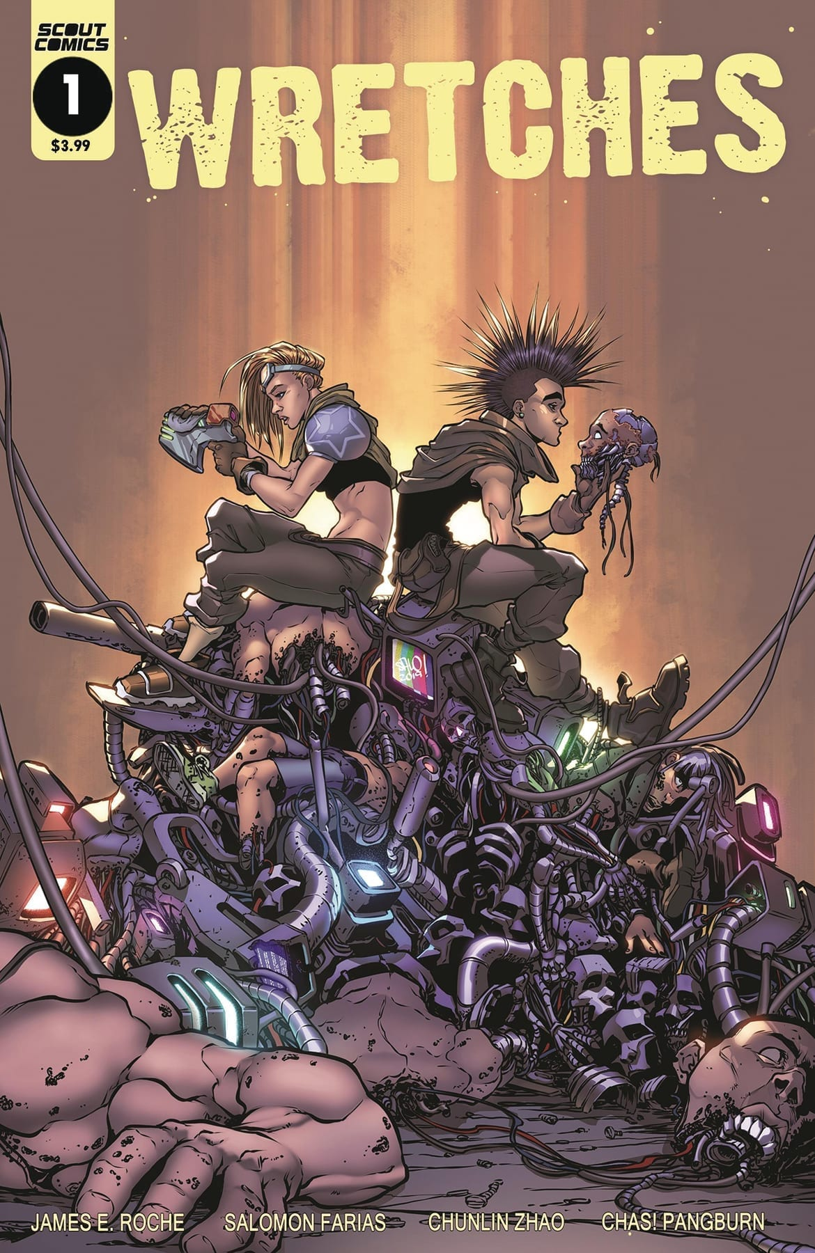 WRETCHES #1 Blasts Into Space With A Fantastic First Issue 4