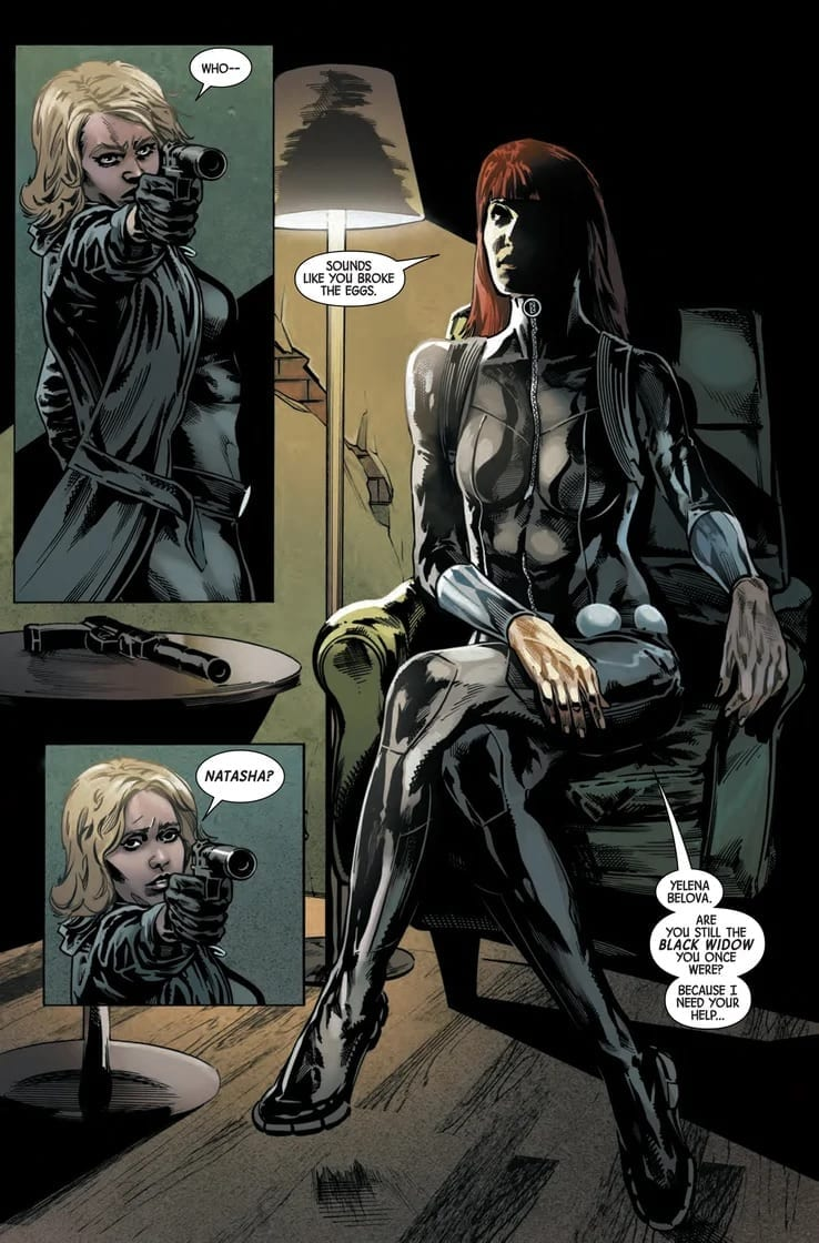 What Is Lost in WEB OF BLACK WIDOW #3 4