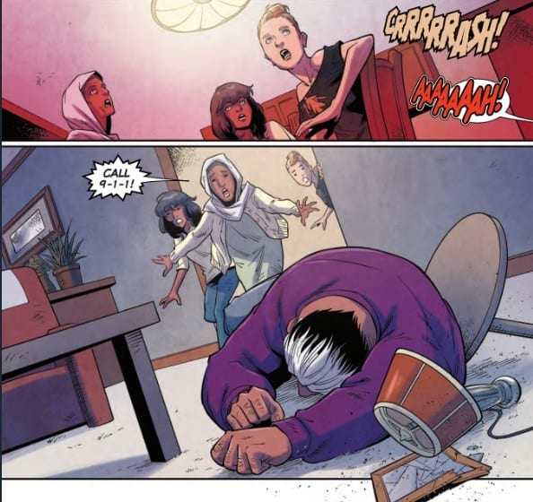 THE MAGNIFICENT MS. MARVEL #9 Gets REAL On Us 1