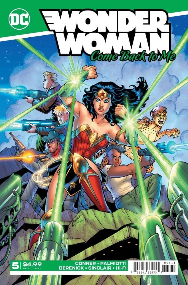 The Plot Thickens in WONDER WOMAN COME BACK TO ME #5 1