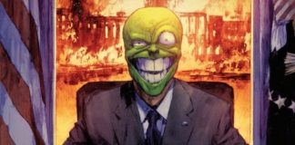 I PLEDGE ALLEGIANCE TO THE MASK #2 main cover artwork
