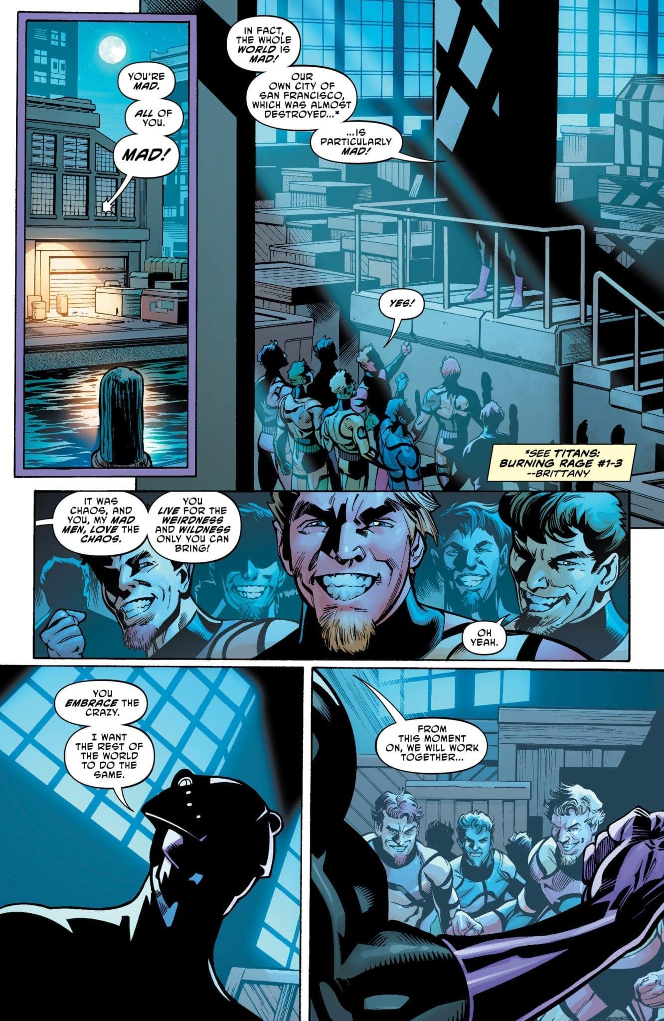 DC Comics Exclusive Preview: TITANS: BURNING RAGE #4 1
