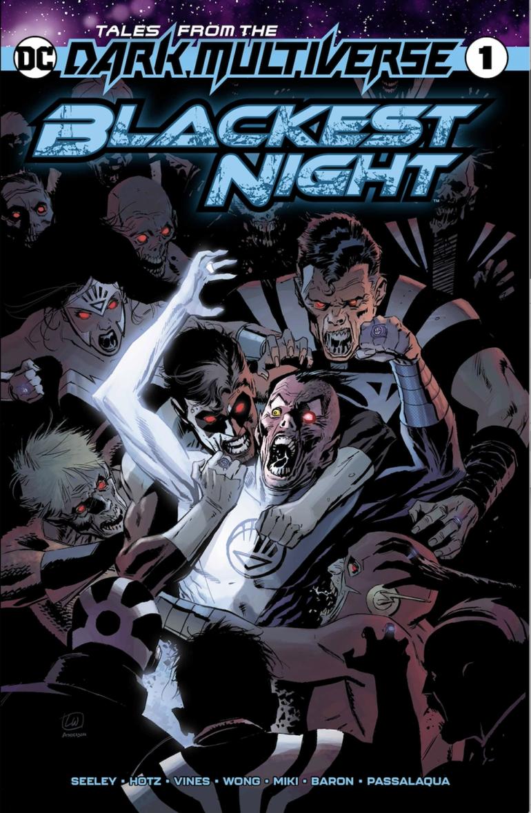 Dark Multiverse Blackest Night #1 cover