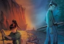 RONIN ISLAND #8 main cover artwork