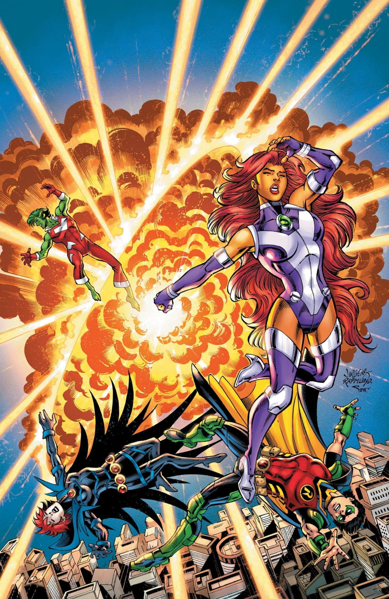 titans burning rage #4 dc comics exclusive preview