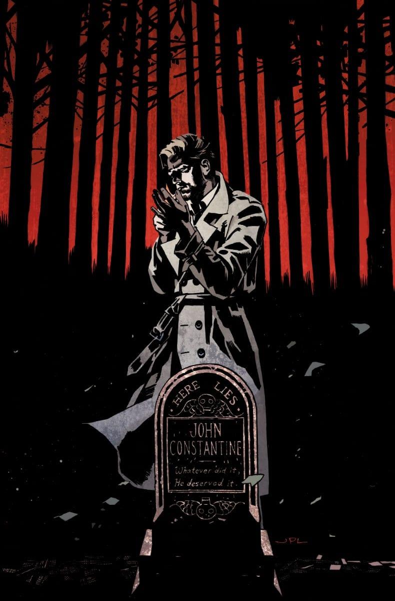 John Constantine Hellblazer #1 Cover