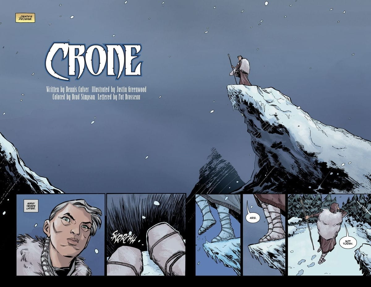 CRONE #1 - No Rest for the Wicked 4