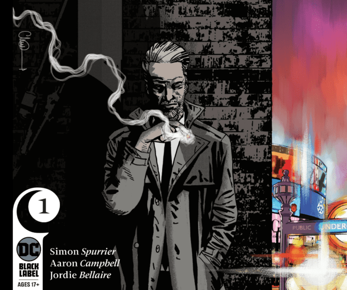Si Spurrier and Aaron Campbell Talk JOHN CONSTANTINE: HELLBLAZER #1