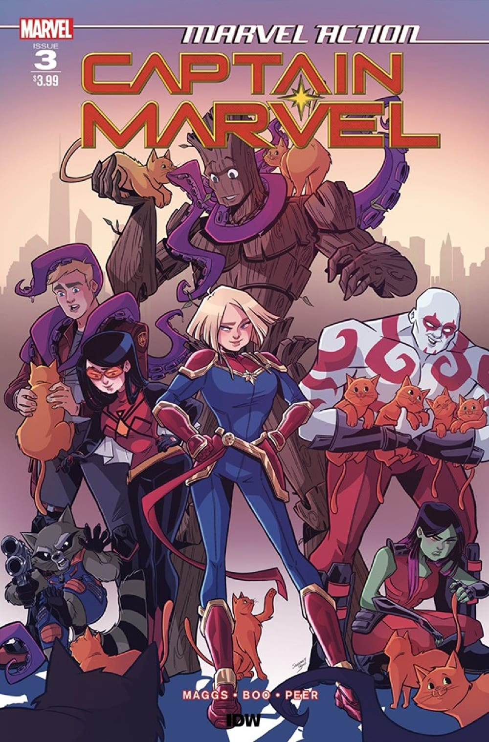 A Whole New Flerkin Problem MARVEL ACTION: CAPTAIN MARVEL #3 1