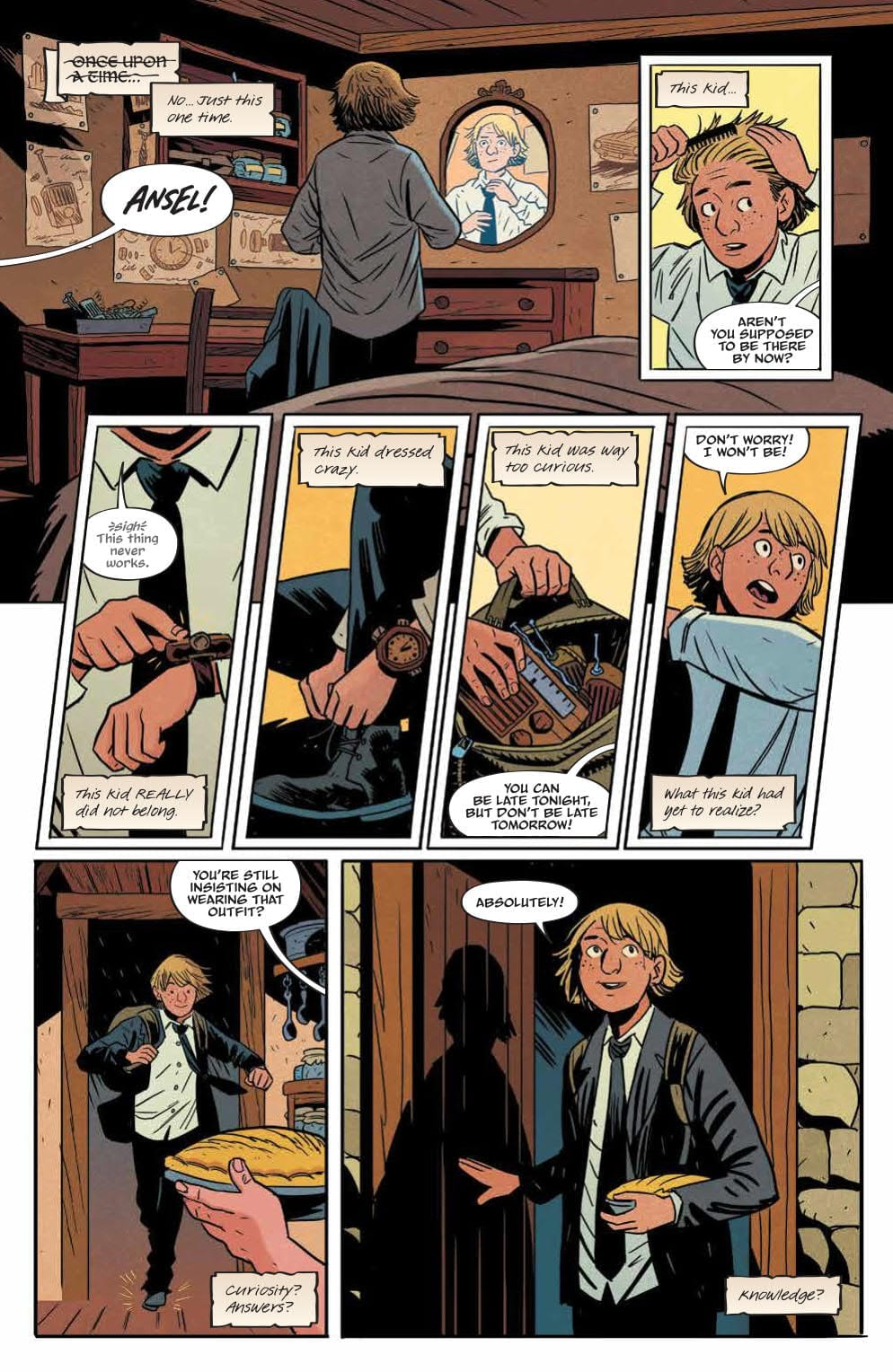 Review: FOLKLORDS #1 (Or How I Learned Earth Is Another World's Fantasy) 1