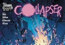 dc comics young animal collapser #6 exclusive preview