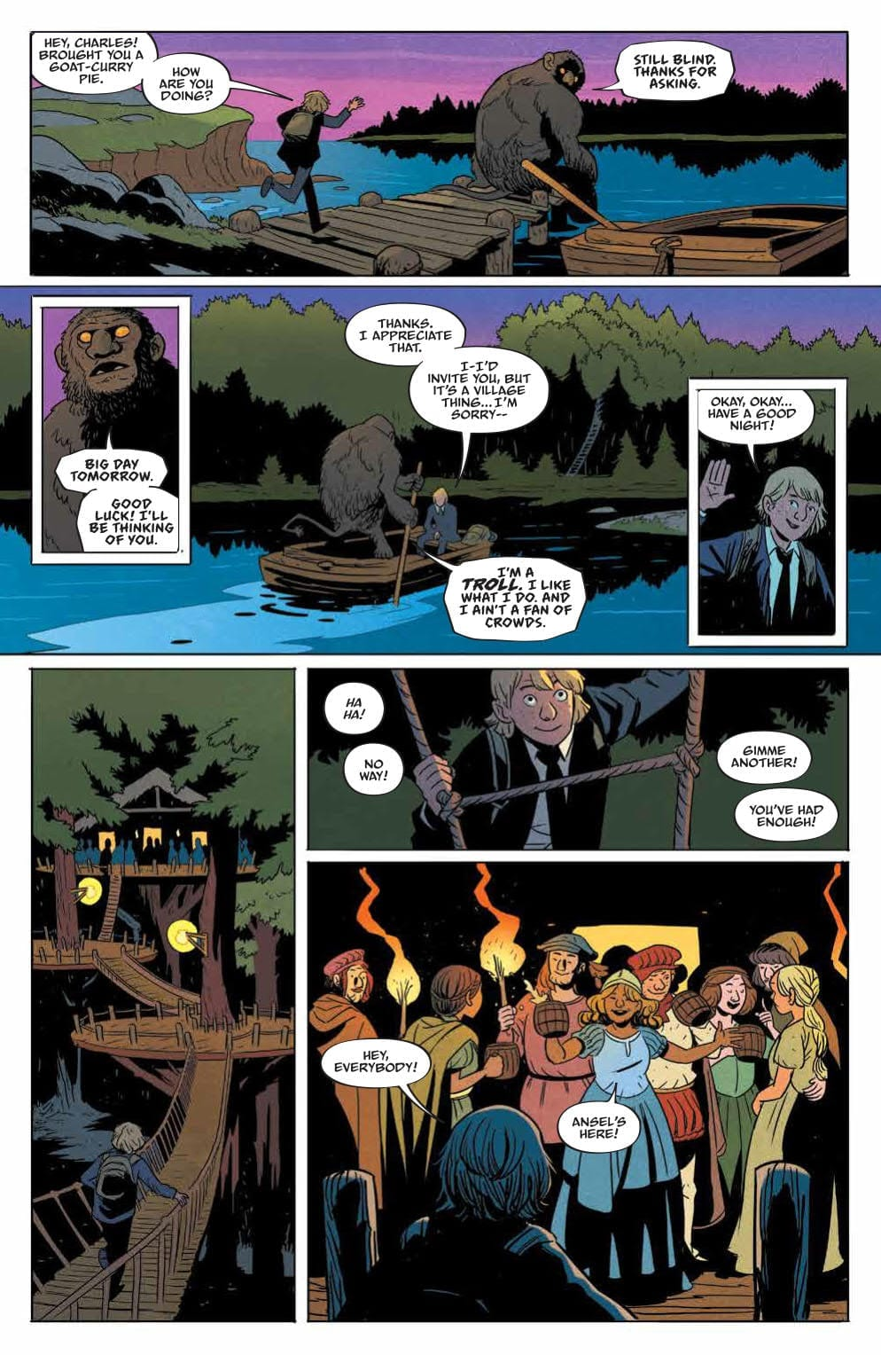 Review: FOLKLORDS #1 (Or How I Learned Earth Is Another World's Fantasy) 3