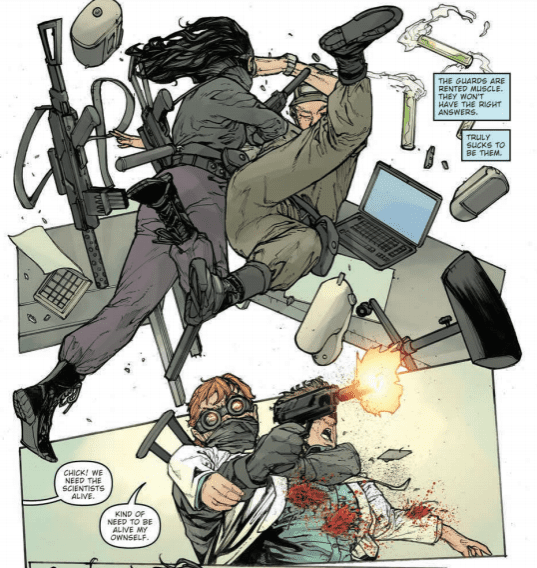 Pandemica #2 Credit: IDW Publishing