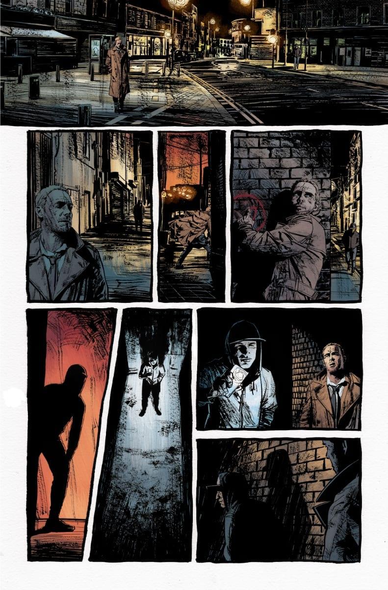 John Constantine Hellblazer #1 Credit: DC Comics