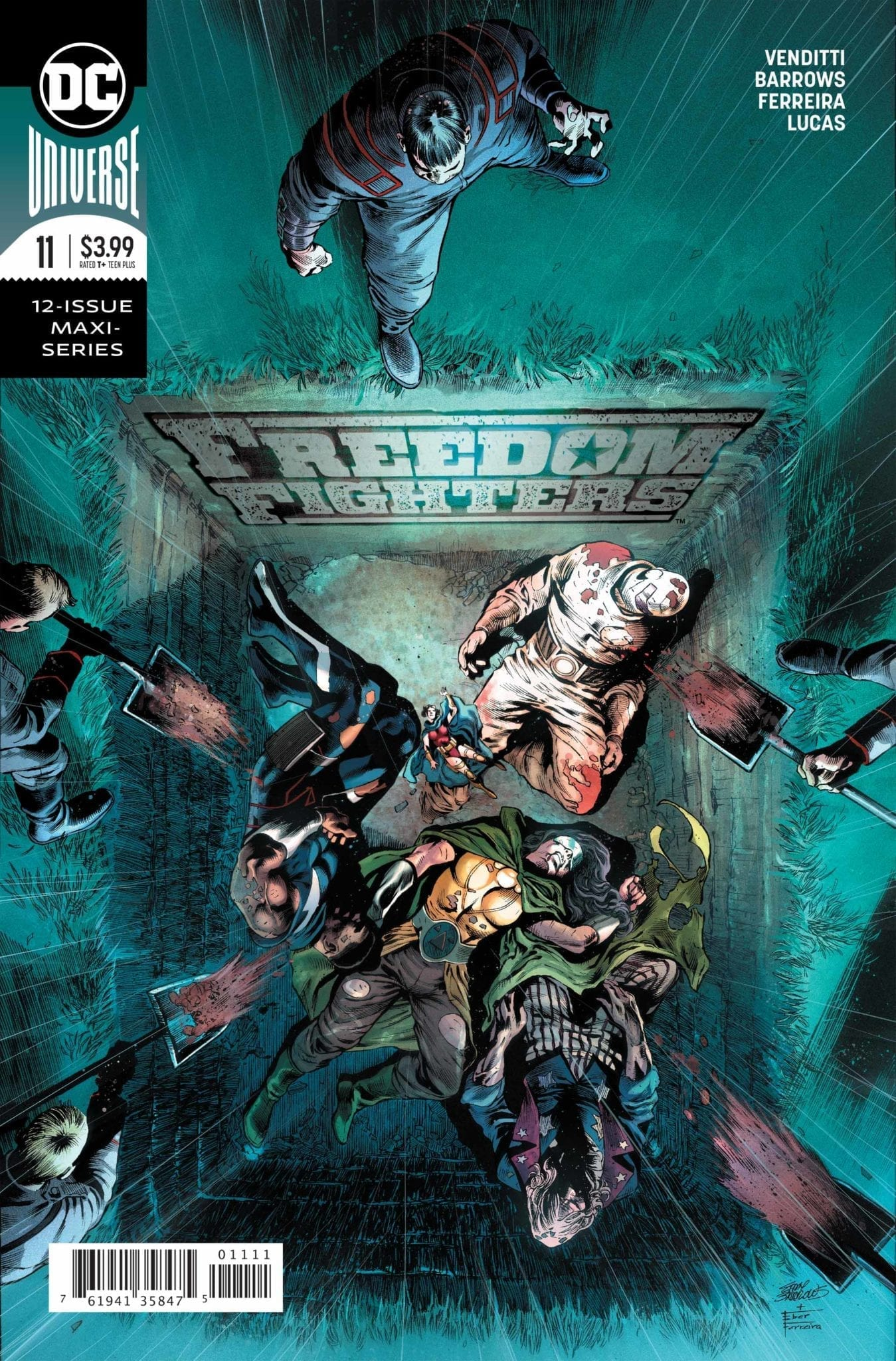 Freedom Fighters 11 cover