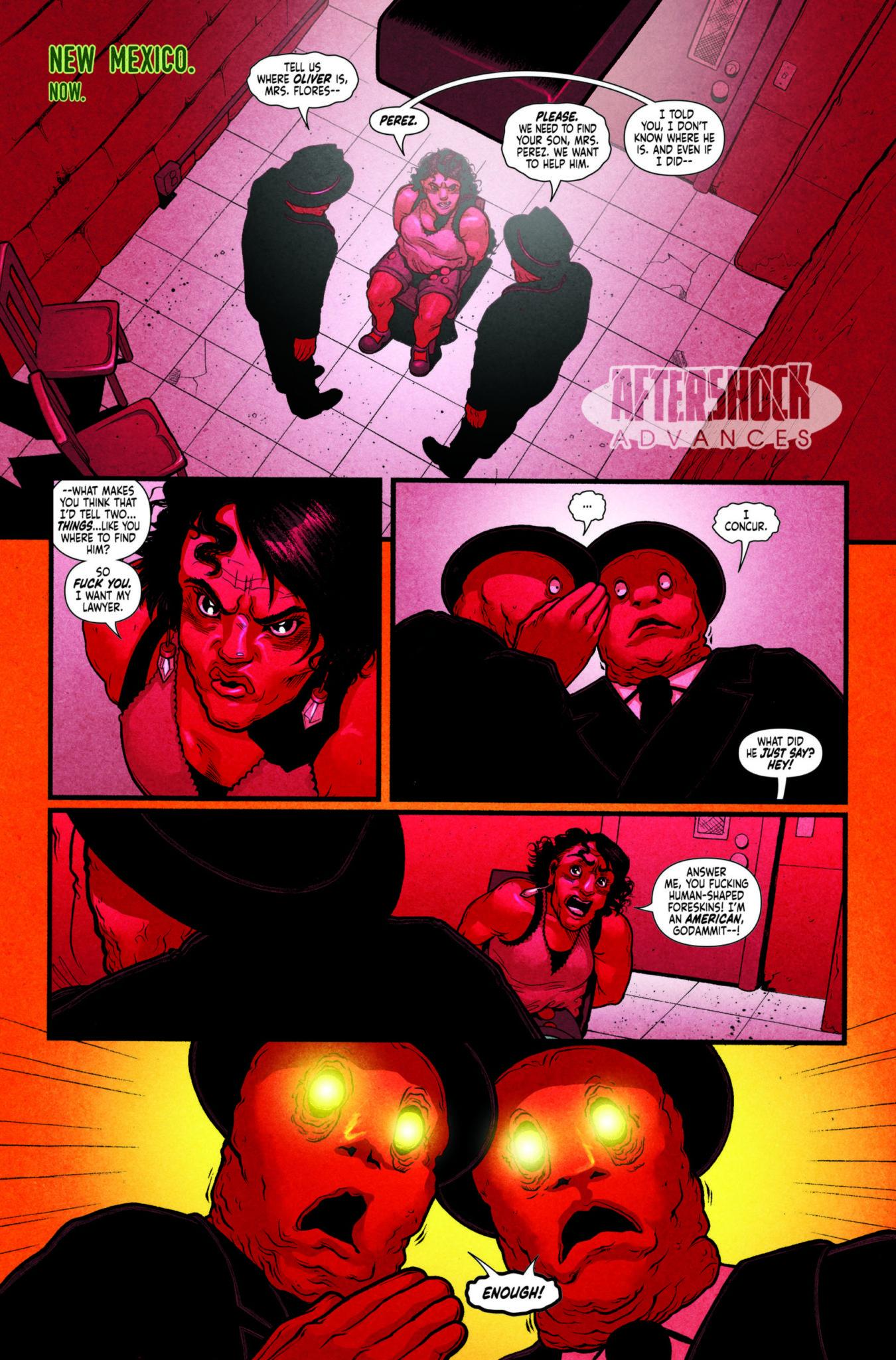 MIDNIGHT VISTA #4 - AfterShock Comics Exclusive Preview