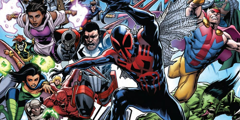 marvel comics 2099 alpha #1 exclusive preview