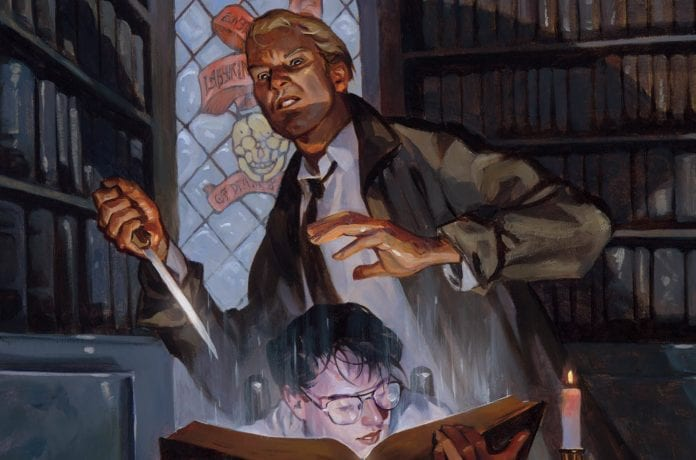 BOOKS OF MAGIC #14 cover artwork