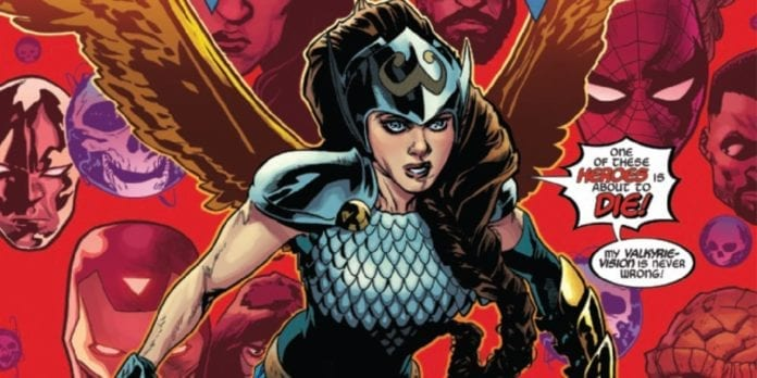 valkyrie jane foster marvel comics exclusive preview