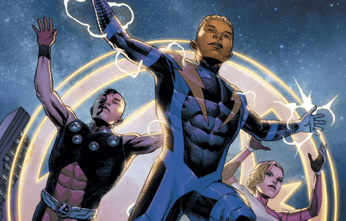 Review: THE LEGION OF SUPERHEROES #1 Returns to a Bright Future 4