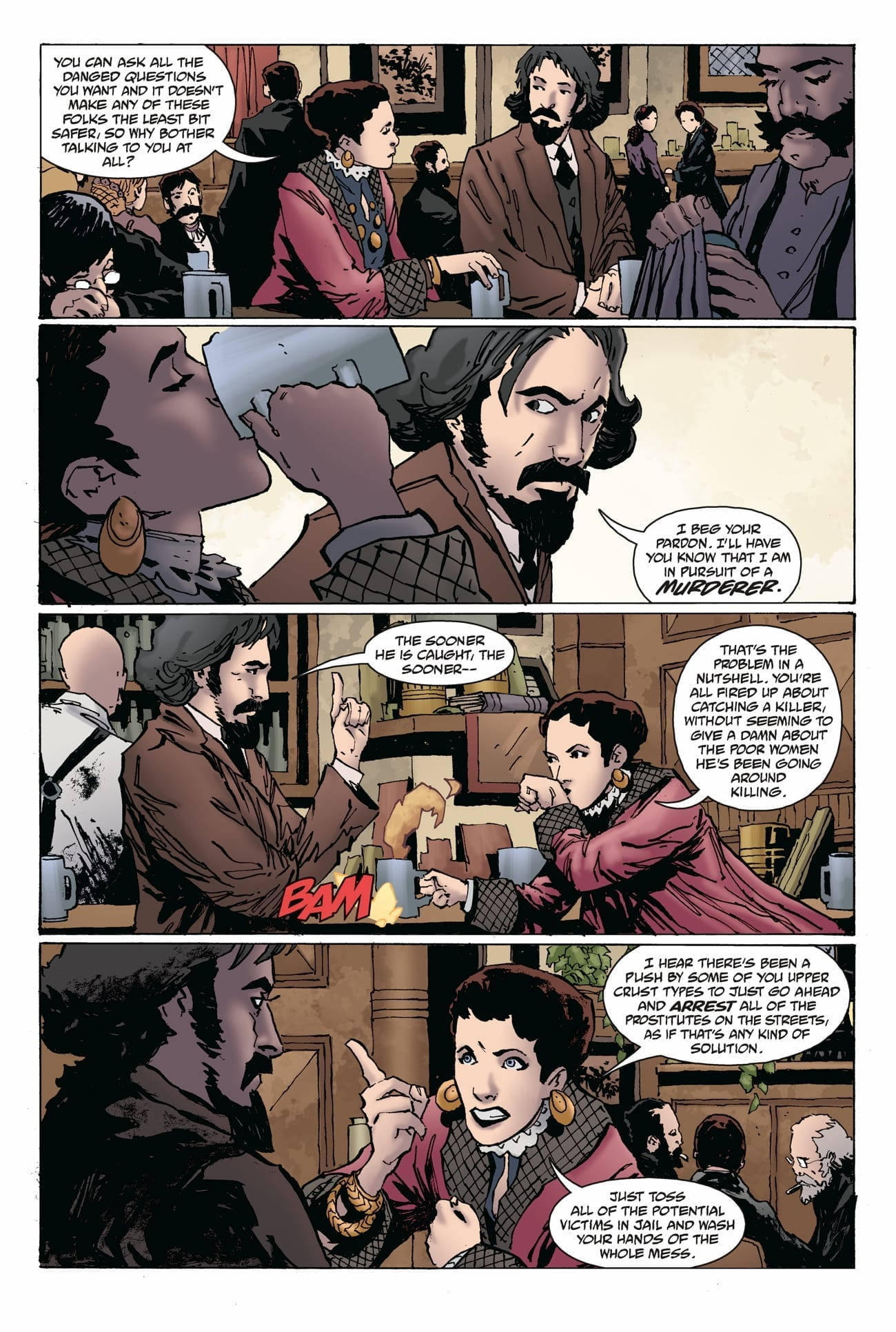 WITCHFINDER: THE REIGN OF DARKNESS #2 dark horse comics exclusive preview