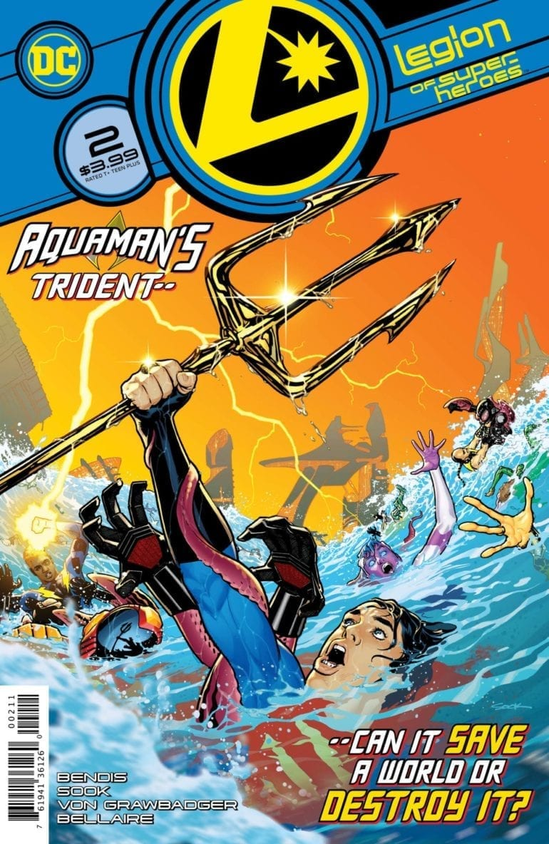 Legion of Superheroes 2 cover